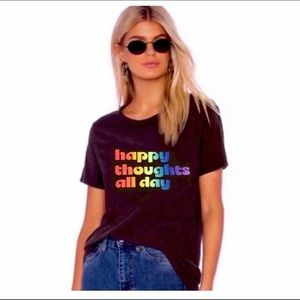 Chaser Happy Thoughts T-shirt Medium